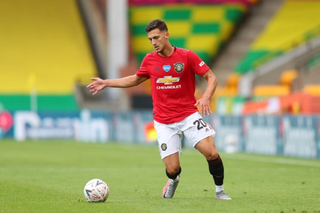 Dalot has struggled for game time this season