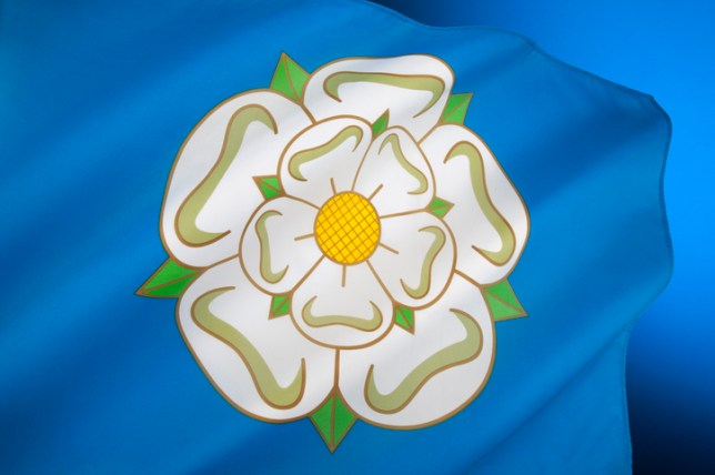 Flag of Yorkshire - United Kingdom