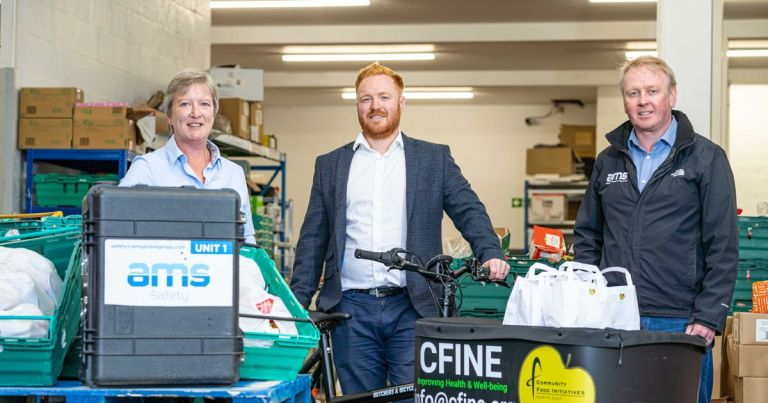 AMS Global Group delivers free disinfection service to charities
