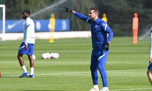 The Chelsea manager, Frank Lampard, must stop his side's vulnerability to counterattacks this season.