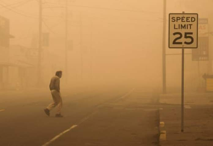 Molalla, Oregon, which has been badly hit by the fires.