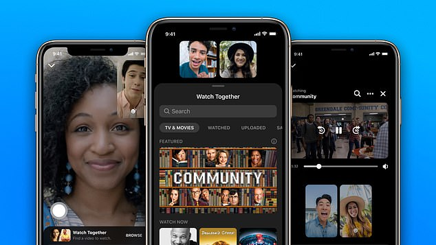 Facebook this week is introducing Watch Together, a new feature that allows members to watch videos together on Messenger video calls or in Messenger Rooms. Only eight users can watch together on a call, but you can watch with up to 50 people in a Messenger Room