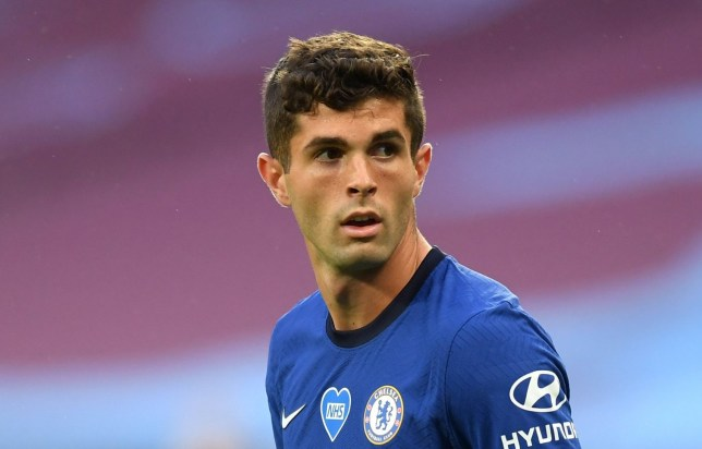 Christian Pulisic was given Chelsea's No.10 following Willian's departure this summer