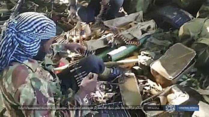 An image distributed by Islamic State