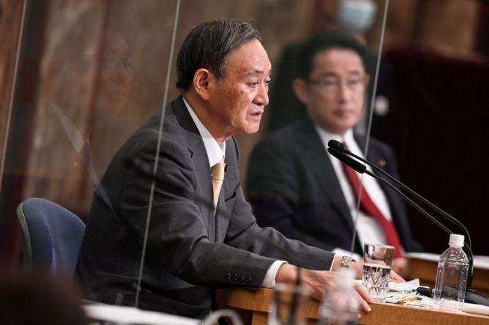 © Reuters. Liberal Democratic Party debates in Tokyo