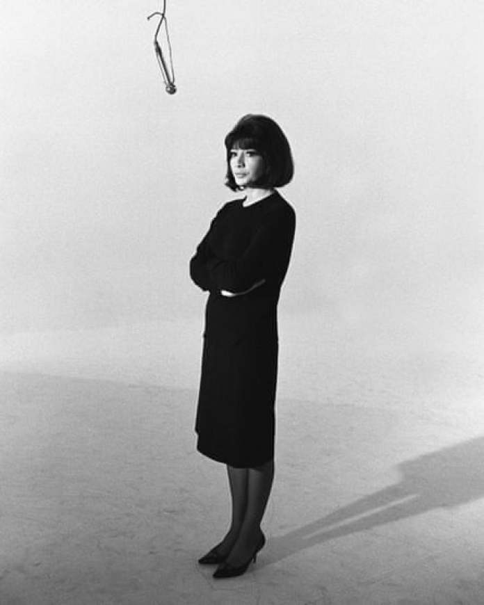 Juliette Greco in 1966. Her stance was that of a priestess, who was about to impart some of her secrets to the congregation.