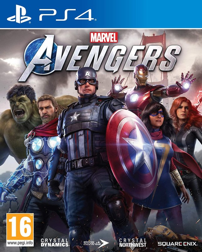 Marvel's Avengers box