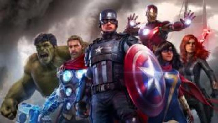 The Avengers together
