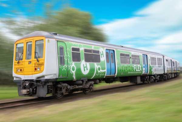 UK's first hydrogen powered train