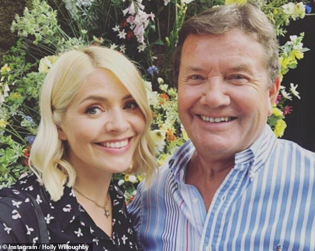 Confusion: On Thursday's This Morning, the host asked if she was going to have to choose between her mother Lynne or father Terry on Christmas due to having a family of five