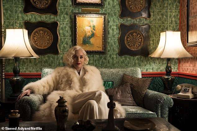 A new role for a veteran: Stone is the blonde bombshell Leonore Osgood in the new series Ratched from Ryan Murphy
