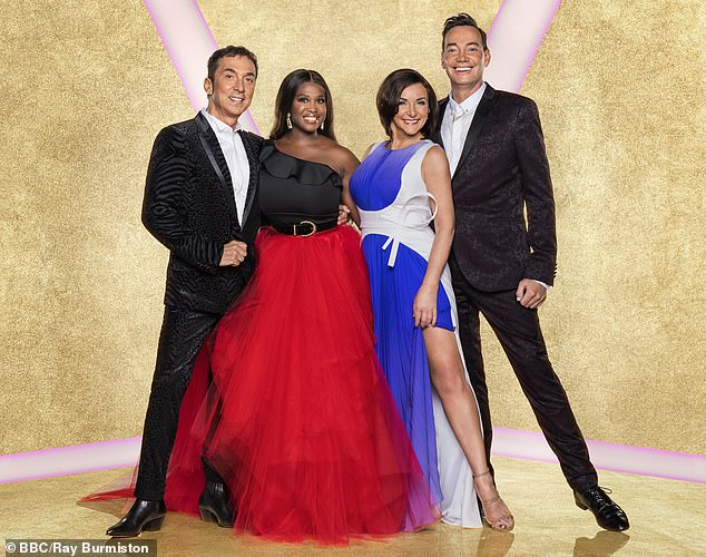 Changes: Only three judges - Craig Revel Horwood, Shirley Ballas and Motsi Mabuse - will be in the studio, while Bruno Tonioli has said he will be 'involved remotely'