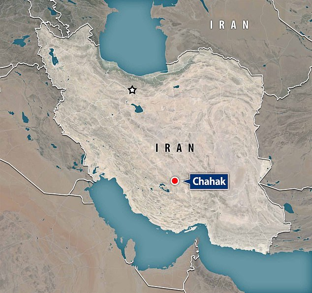 The physical location of the site has long remained a mystery, hindered by the fact many current villages in Iran are called Chahak. Researchers tracked down the most likely location as Chahak, in Fars province (pictured), a village known for agriculture, not archaeology