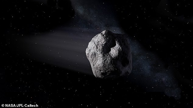 Scientists speculate there are more than 100 million smaller asteroids like 2020 SW flying through space, but are harder to spot unless they make their way closer to Earth (stock)
