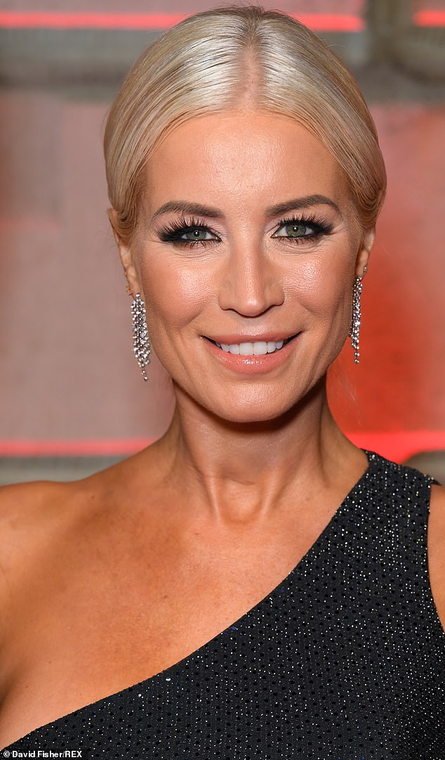 Ready for the rink:Denise Van Outen is also believed to have inked a £40,000 deal to appear on the next series of Dancing On Ice