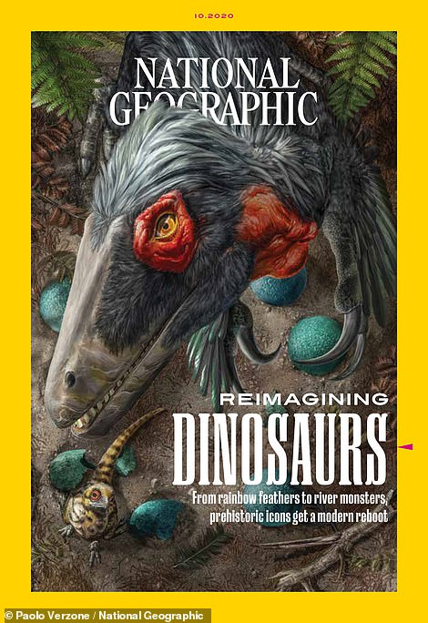 National Geographic released its October issue with a cover story on 'Reimaging Dinosaurs,' where it discuss new technologies used in the field
