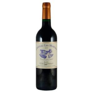 Chateau Les Martins 2016 Blaye Cotes de Bordeaux 13.5%