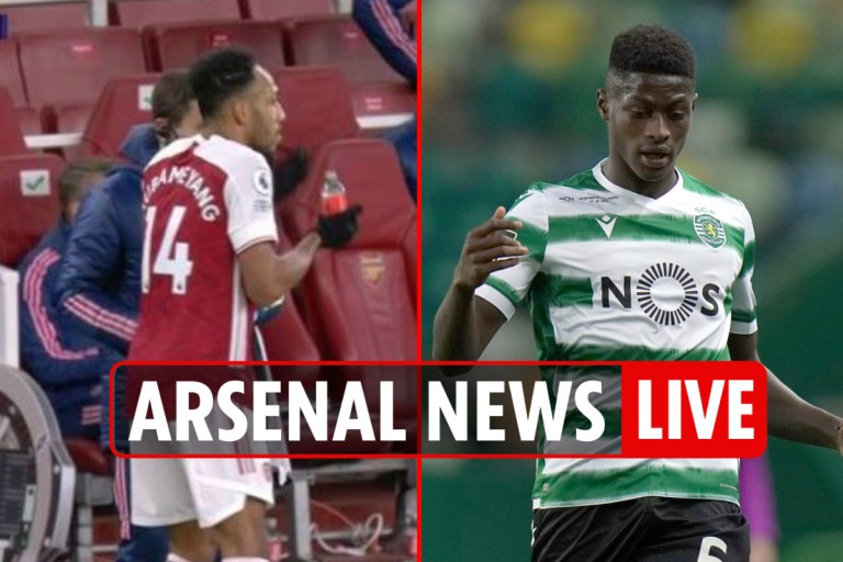 11pm Arsenal news LIVE: Aubameyang takes tablets in Leicester loss, Nuno Mendes and Coutinho transfer LATEST