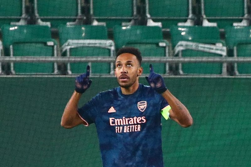 © Reuters. Europa League - Group B - SK Rapid Wien v Arsenal