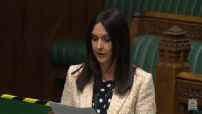 Margaret Ferrier speaking in the Commons