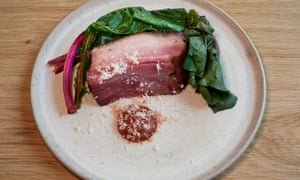 'The fat caramelises dark and sticky': sugar-pit bacon