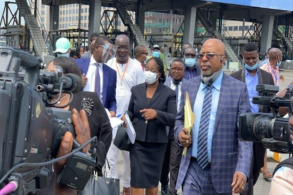 Drama as Lagos panel on SARS visits Ikoyi Military hospital in search of evidence