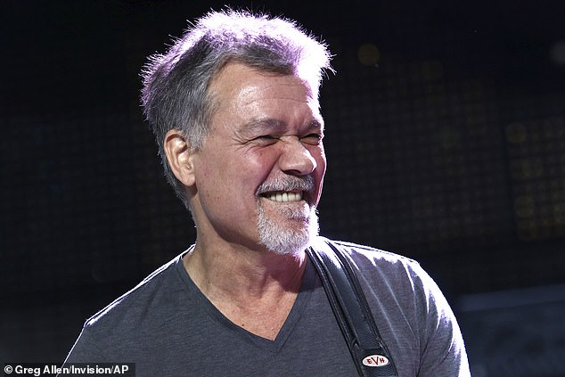 The latest:Tributes poured in for Eddie Van Halen Tuesday following the rock star's death at 65 from cancer. The rocker was snapped onstage in 2015 in NYC