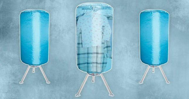 home bargains electric clothes dryer