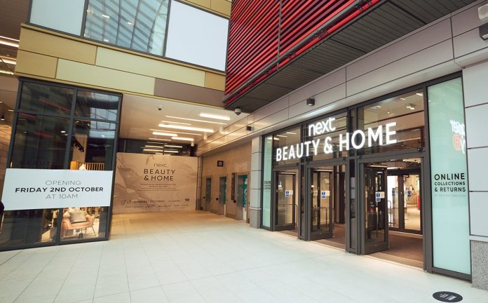 In pictures: Next opens first beauty halls