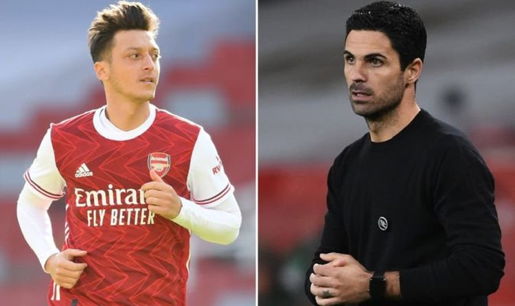 Kevin Campbell denies Mesut Ozil issue as Arsenal legend agrees with Mikel Arteta over ace