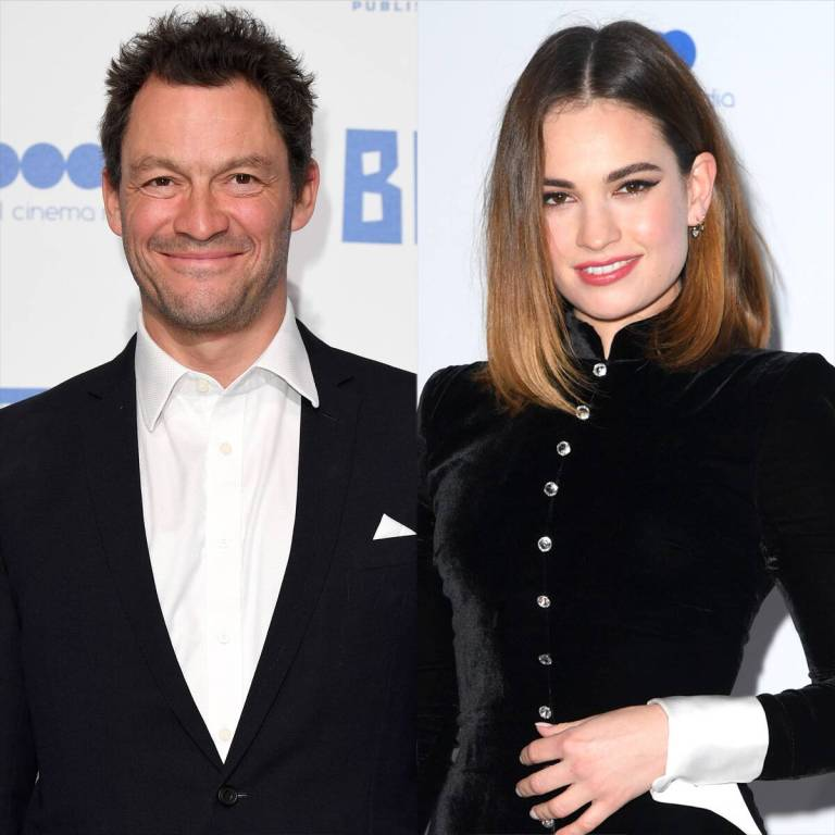 Lily James Makes Her First TV Appearance Since Dominic West Drama