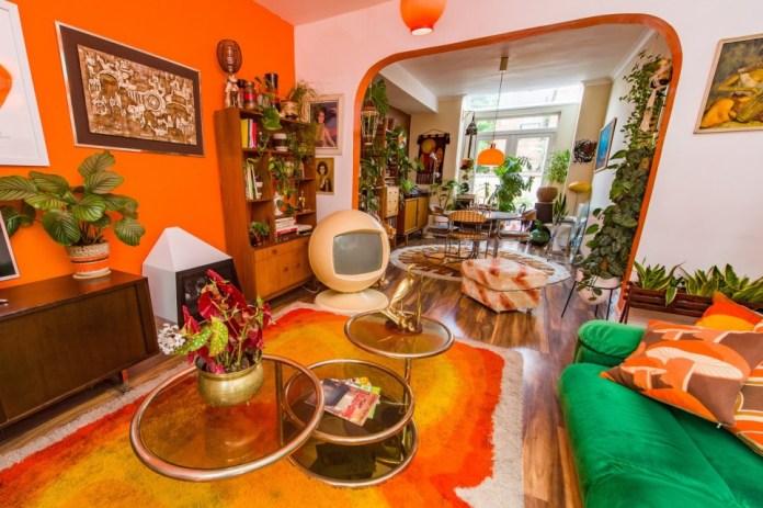 Estelle Bilson's seventies themed house