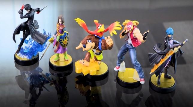 Super Smash Bros amiibo Banjo-Kazooie Terry Byleth