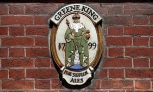 Greene King plaque