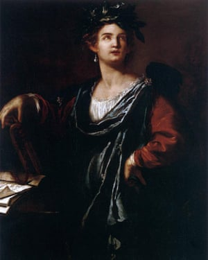 Clio, the Muse of History by Artemisia Gentileschi.