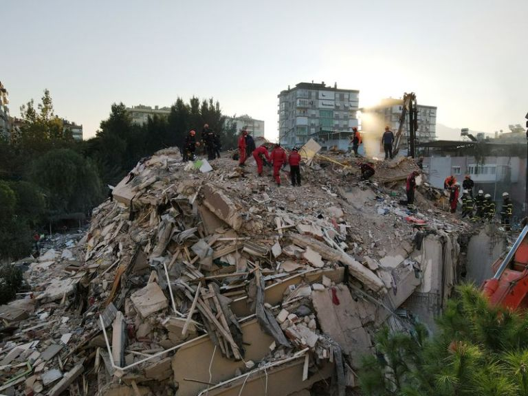 Turkish rescue workers search for quake survivors; death toll rises to 27