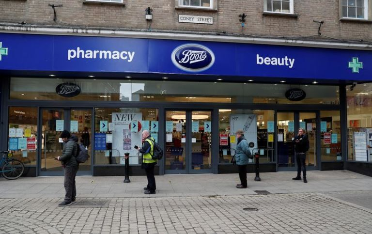 UK pharmacy chain Boots offers £120 COVID tests for asymptomatic people