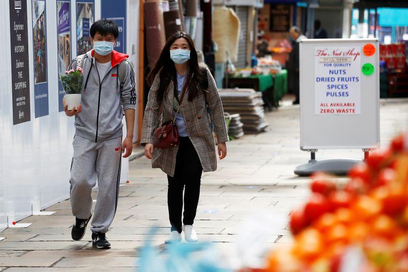 © Reuters. Outbreak of the coronavirus disease (COVID-19) in Leeds