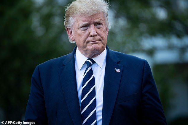 President Trump currently has mild symptoms of coronavirus, meaning he may be a good candidate for treatment with the antiviral remdesivir (file)