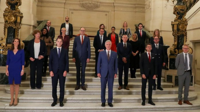 Belgium's new government