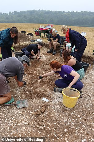The discovery of the site, complete with the remains of a 'formidable warrior' suggest this region was more important in post-Roman Britain then first thought