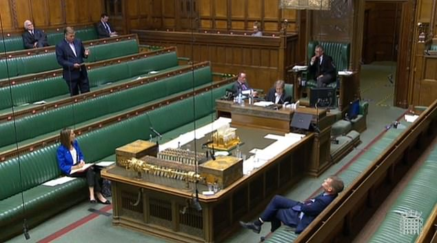 The Covid-19 regulations which enforce the rules on gatherings in England was passed by 287 votes to 17 - a majority of 270 - in Westminster