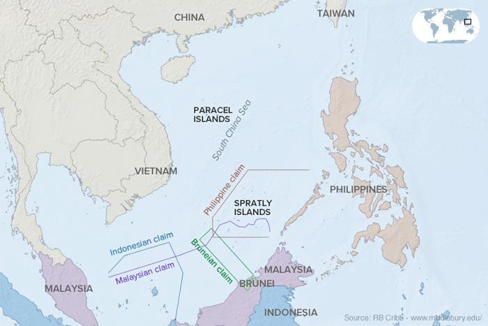 South China Sea Map
