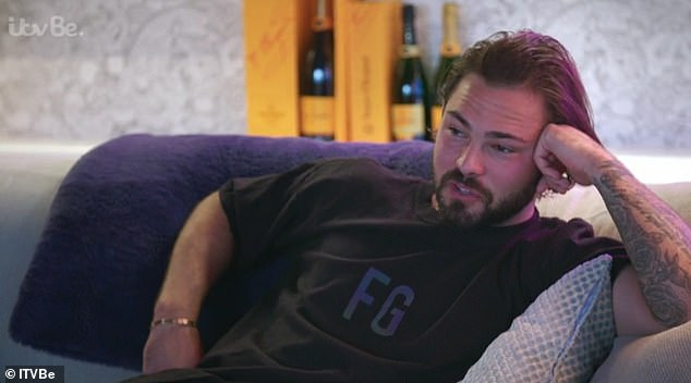 Bombshell: Appearing on the debut episode of Olivia Meets Her Match, the former TOWIE star threatened to check Bradley's phone messages in front of him during a playful tiff, admitting she does it at nighttime anyway