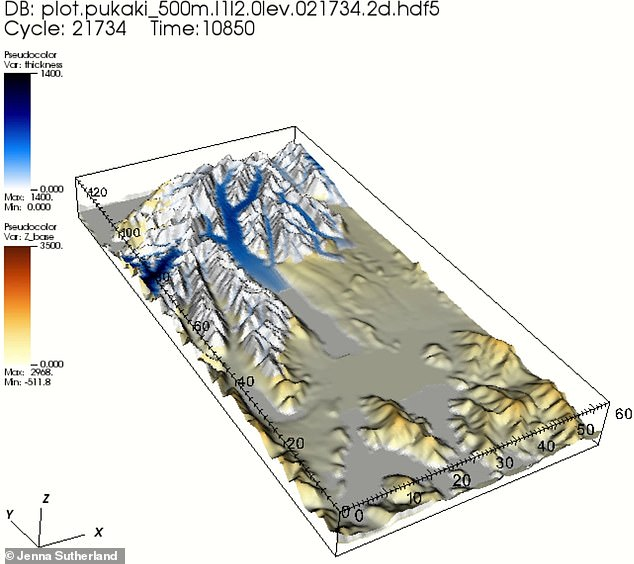 For the first time researchers have quantified the influence of the lakes on mountain glaciers using computer simulations based on a glacier in New Zealand