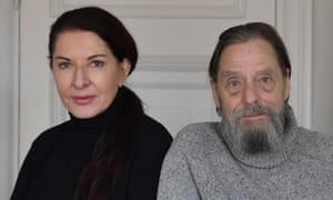 Marina Abramović and her former partner Ulay in Stockholm in 2017.