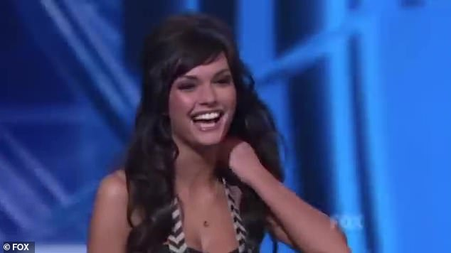 Throwback:She was first seen on American Idol's eighth season in 2009