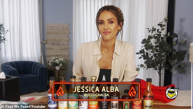 Getting spicy:Jessica Alba dropped a bombshell days ago when she claimed that she wasn't allowed to make eye contact with the stars when she appeared in two episodes back in 1998