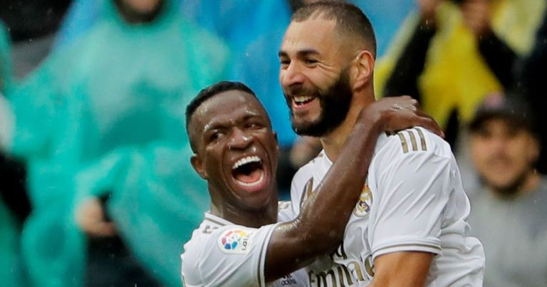 Benzema 'apologises' to Real Madrid ace Vinicius Jr after brutal half-time dig