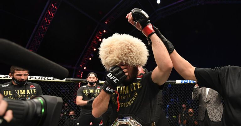 Khabib Nurmagomedov hints at reversing decision to retire from the UFC